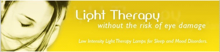 Lo-LIGHT therapy lamp